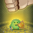 Eleminimi i mikrobeve me ane te drites