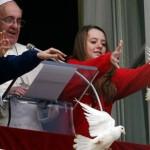Pellumbat e paqes ne Vatikan
